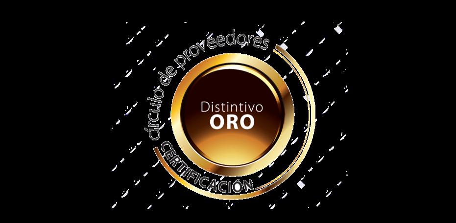 Icono Distintivo de Oro MBL